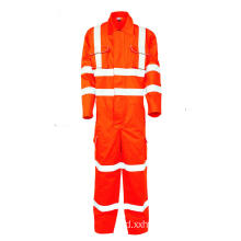 EN11611 coverall workwear tahan api